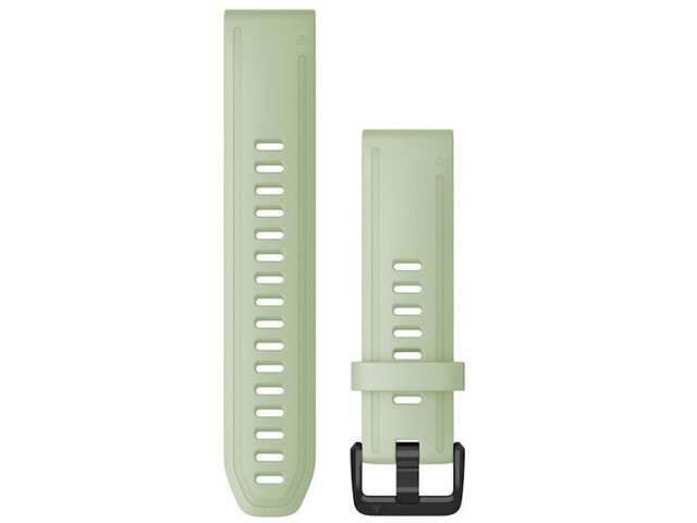 Garmin QuickFit Silikon Uhrenband 20mm für Fenix 6S light green